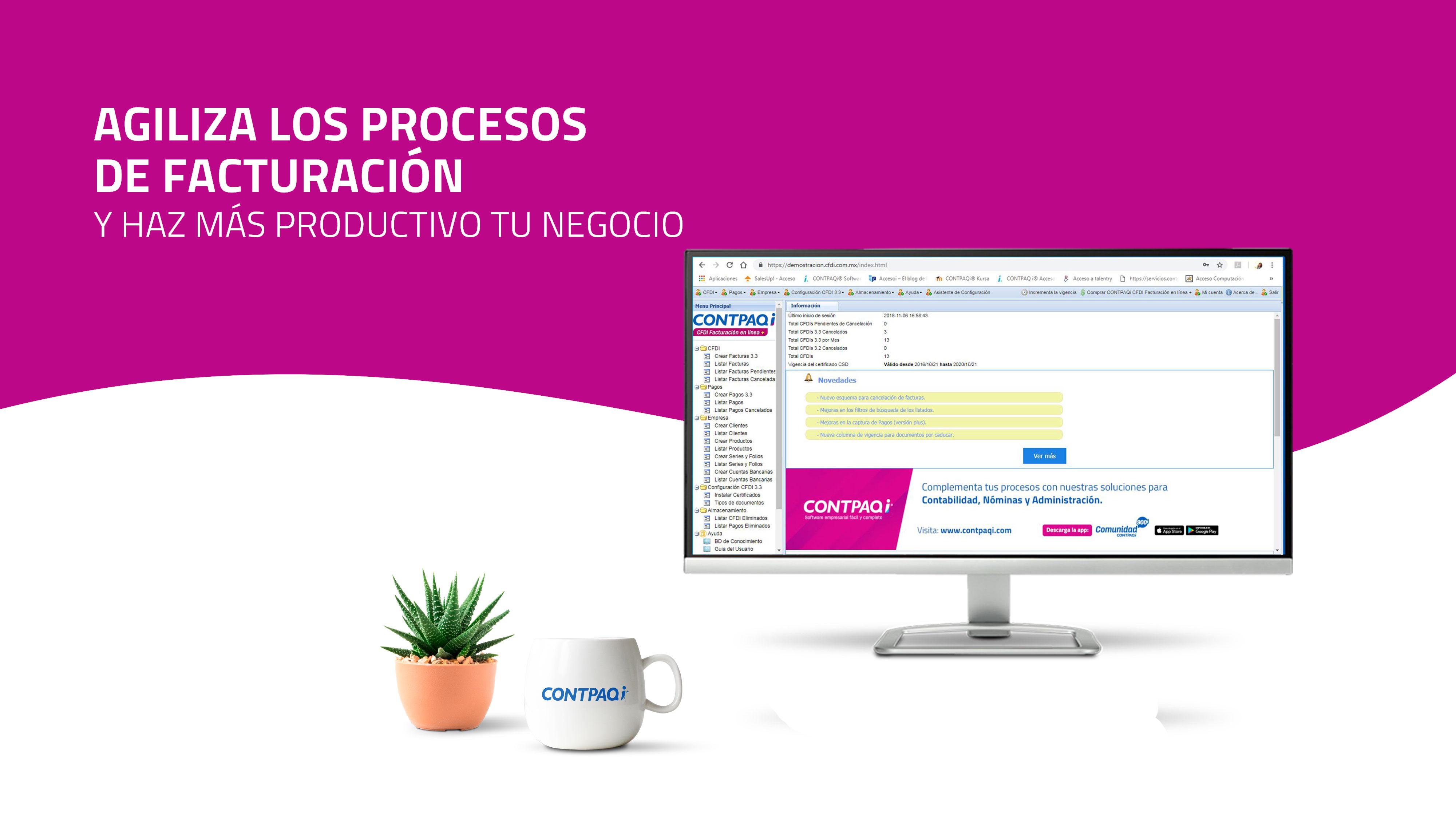 Contpaqi CFDI Factura Electrónica Querétaro